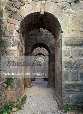 Archway, Bergama, Turkey Stock Photo - Rights-Managed, Image code: 700-01260236