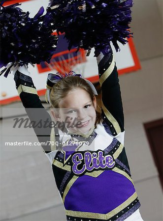 Cheerleader Stock Photo - Rights-Managed, Image code: 700-01276079