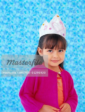 Portrait of Girl Stock Photo - Rights-Managed, Image code: 700-01295920