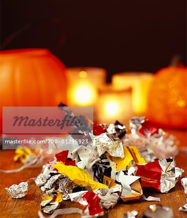 Halloween Candy Stock Photo - Rights-Managed, Image code: 700-01295923