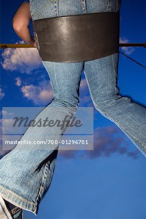 Woman Swinging Stock Photo - Rights-Managed, Image code: 700-01296701