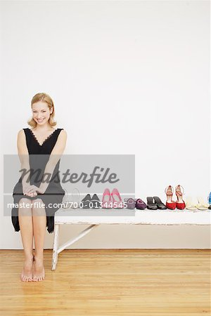 Woman with Shoes Stock Photo - Rights-Managed, Image code: 700-01344545