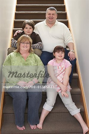 Portrait of Family Stock Photo - Rights-Managed, Image code: 700-01345023