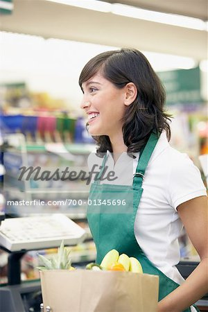 Supermarket Cashier