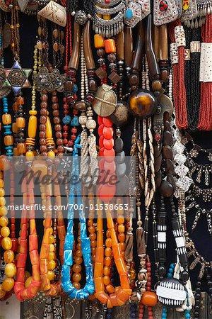 Jewelry, Khan Al-Khalili Bazaar, Cairo, Egypt