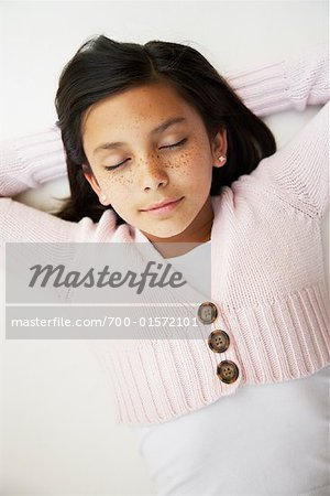 Girl Resting Stock Photo - Rights-Managed, Image code: 700-01572101