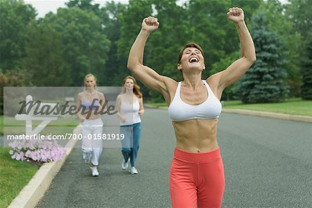 Women Jogging Stock Photo - Rights-Managed, Image code: 700-01581919