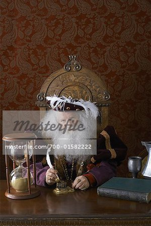 Portrait of King Stock Photo - Rights-Managed, Image code: 700-01582222