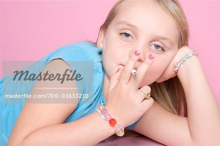 Girl Smoking Cigarette Stock Photo - Rights-Managed, Image code: 700-01633210
