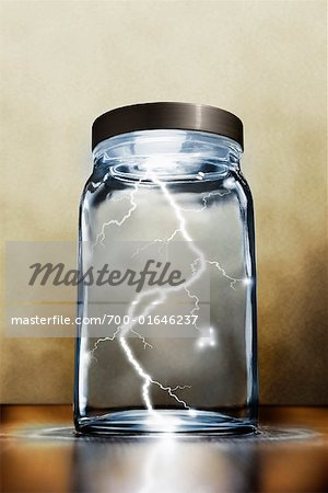 Lightning in a Jar Stock Photo - Rights-Managed, Image code: 700-01646237