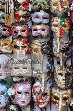Souvenir Masks, Venice, Italy