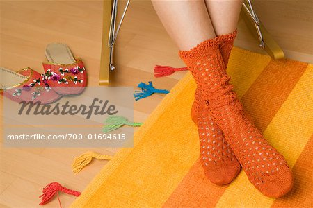 Woman's Socks Stock Photo - Rights-Managed, Image code: 700-01694615