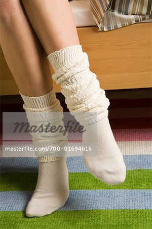 Woman's Socks Stock Photo - Rights-Managed, Image code: 700-01694616