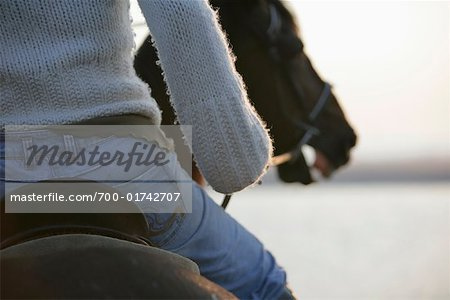 Woman Riding Horse, Netherlands Stock Photo - Rights-Managed, Image code: 700-01742707
