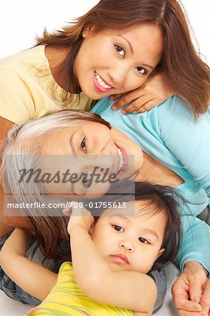 Portrait of Family Stock Photo - Rights-Managed, Image code: 700-01755613