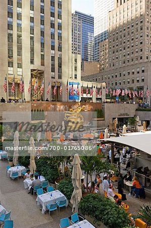 Rockefeller Center, New York City, New York, USA Stock Photo - Rights-Managed, Image code: 700-01765086