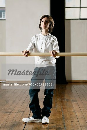 Boy in Dance Studio Stock Photo - Rights-Managed, Image code: 700-01788368