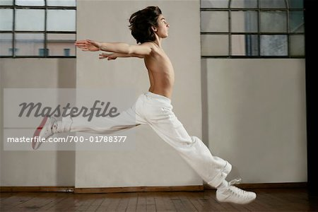 Boy Dancing Stock Photo - Rights-Managed, Image code: 700-01788377