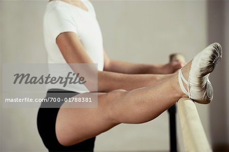 Dancer Stretching Stock Photo - Rights-Managed, Image code: 700-01788381