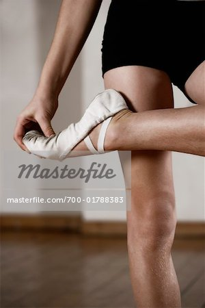 Dancer Stretching Stock Photo - Rights-Managed, Image code: 700-01788383
