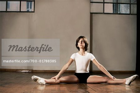 Dancer Stretching Stock Photo - Rights-Managed, Image code: 700-01788385