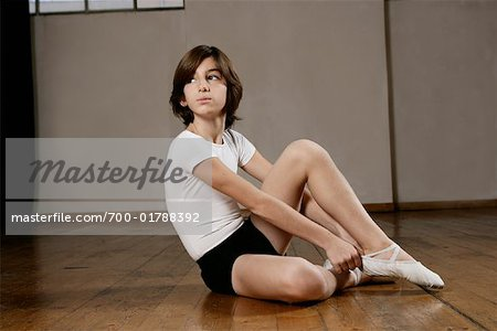 Boy in Dance Studio Stock Photo - Rights-Managed, Image code: 700-01788392