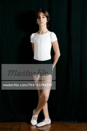 Portrait of Dancer Stock Photo - Rights-Managed, Image code: 700-01788397