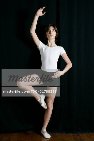 Portrait of Dancer Stock Photo - Rights-Managed, Image code: 700-01788398