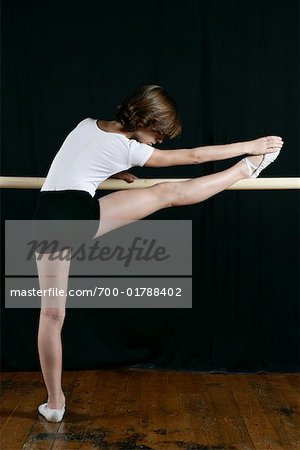 Dancer Stretching Stock Photo - Rights-Managed, Image code: 700-01788402