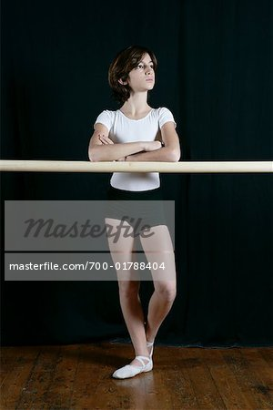 Portrait of Dancer Stock Photo - Rights-Managed, Image code: 700-01788404