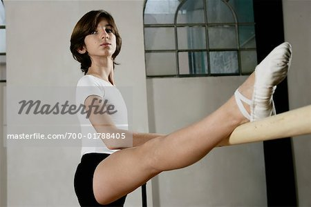 Dancer Stretching Stock Photo - Rights-Managed, Image code: 700-01788405