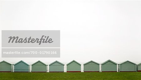 Row of Beach Huts, England Stock Photo - Rights-Managed, Image code: 700-01790166