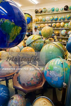 Globe Shop, Barcelona, Spain Stock Photo - Rights-Managed, Image code: 700-01879660
