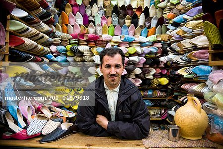 Shoes for Sale, Medina of Fez, Morocco