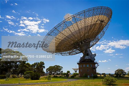 Parkes Observatory, Parkes, New South Wales, Australia Stock Photo - Rights-Managed, Image code: 700-01880121