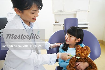 Girl at Dentist Stock Photo - Rights-Managed, Image code: 700-01992995