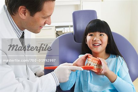 Girl at Dentist Stock Photo - Rights-Managed, Image code: 700-01992997