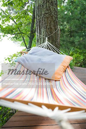 Empty Hammock Stock Photo - Rights-Managed, Image code: 700-02010906