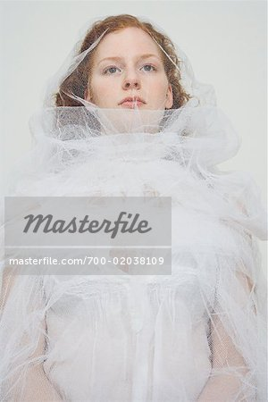 Portrait of Bride Stock Photo - Rights-Managed, Image code: 700-02038109