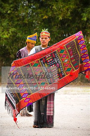 Performance of Tortor Dance, Samosir Island, Sumatra, Indonesia Stock Photo - Rights-Managed, Image code: 700-02046545
