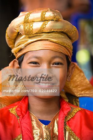 Best Man at Wedding, Pasar Kambang, Sumatra, Indonesia Stock Photo - Rights-Managed, Image code: 700-02046622
