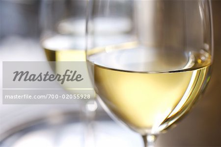 Glasses of White Wine Stock Photo - Rights-Managed, Image code: 700-02055928