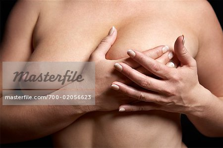 Close-up of Woman's Breasts