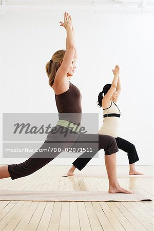 Women Doing Yoga in Studio Stock Photo - Rights-Managed, Image code: 700-02071511