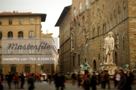 Piazza della Signoria, Florence, Italy Stock Photo - Rights-Managed, Image code: 700-02080756