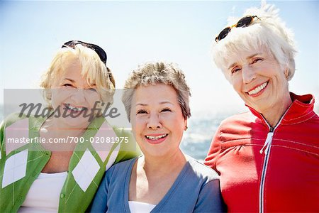 Women at the Beach, Santa Monica Pier, Santa Monica, California, USA Stock Photo - Rights-Managed, Image code: 700-02081975