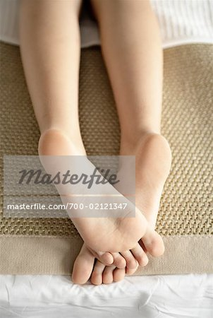 Close-up of Woman's Feet Stock Photo - Rights-Managed, Image code: 700-02121347