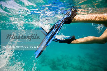 Woman Snorkeling Stock Photo - Rights-Managed, Image code: 700-02123749