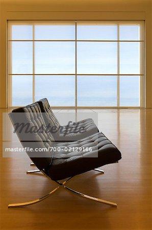 Modern Chair in Modern Art Museum