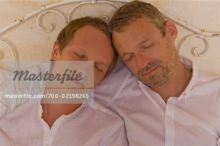 Couple in Bed Stock Photo - Rights-Managed, Image code: 700-02198265